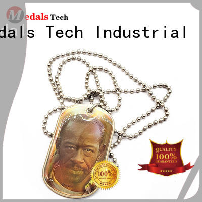 plating online dog tag maker enamel from China for man