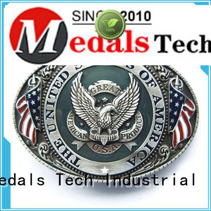 Medals Tech embossed cheap belt buckles supplier for teen