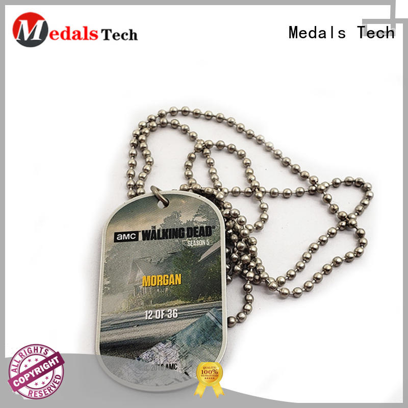 Medals Tech silver Dog tag series for adults
