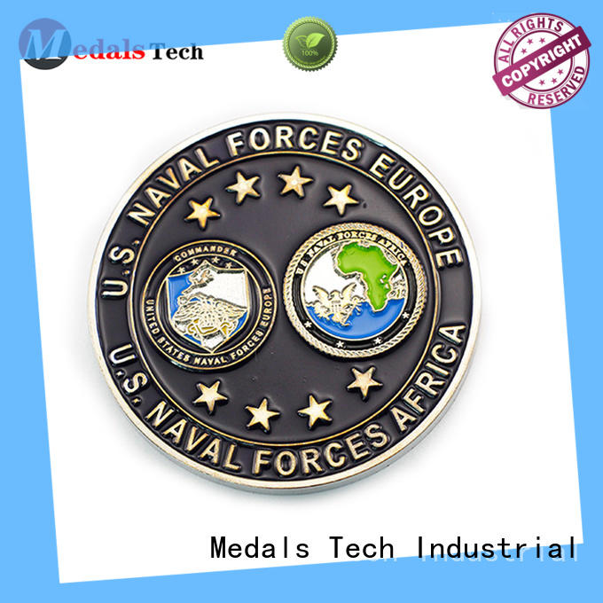 Medals Tech personalized unique challenge coins wholesale for collection