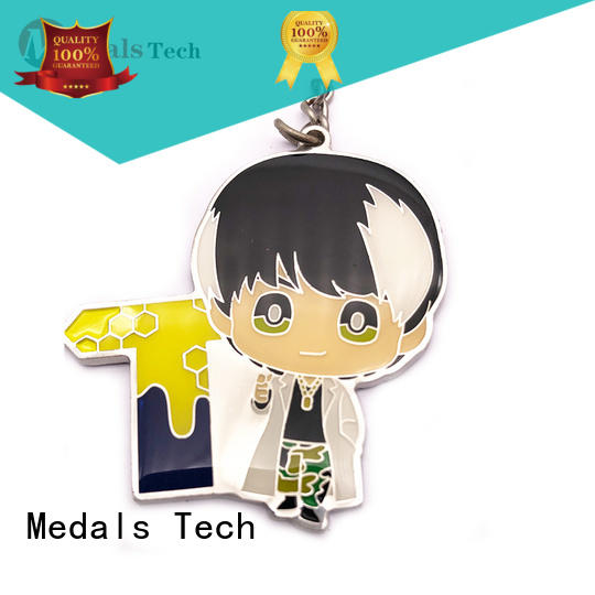 Medals Tech casting keychain supplies customized for man