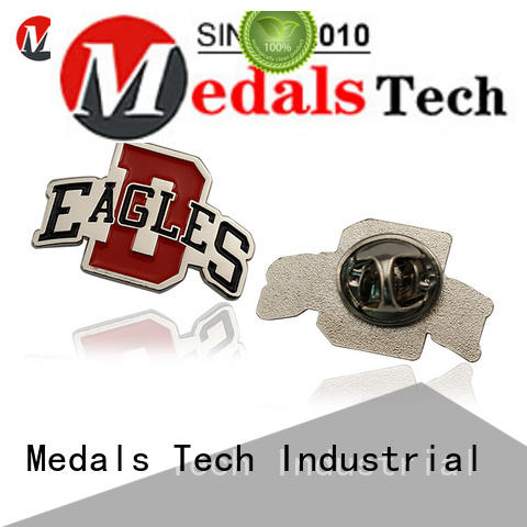 Medals Tech embossed cool lapel pins with good price for man