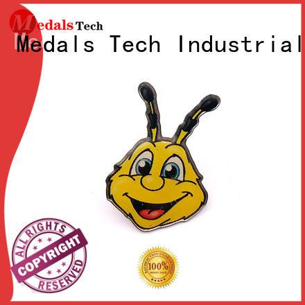 Medals Tech award custom lapel pins design for adults
