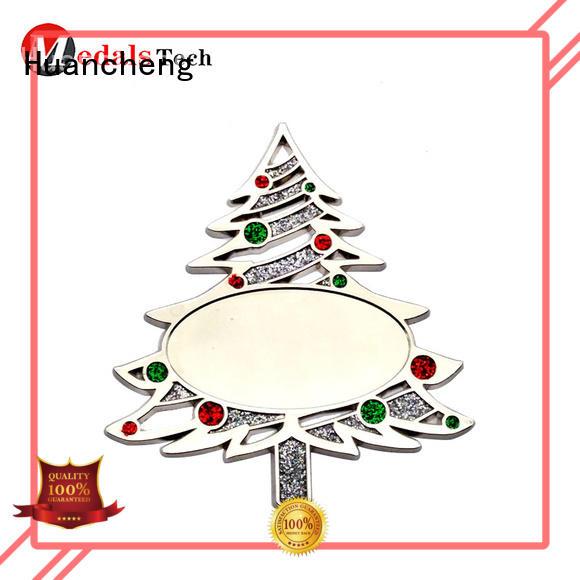 Huancheng Brand Synthetic Enamel Soft enamel christmas custom metal gift items