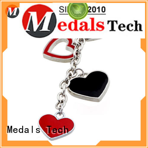 Medals Tech plated keychain supplies manufacturer for add on sale