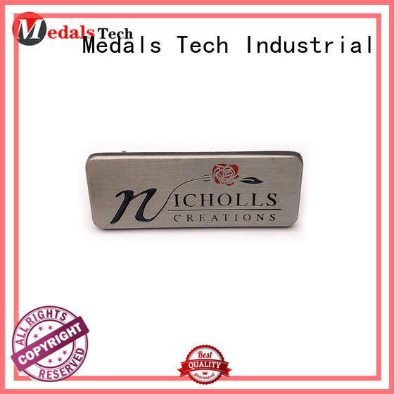 Medals Tech printed metal name plates with good price for kids