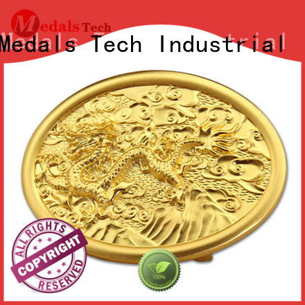 Medals Tech plated custom belt buckles personalized for teen