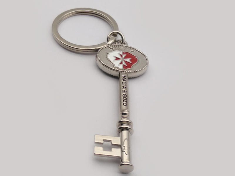 Hot name keychains silver Huancheng Brand