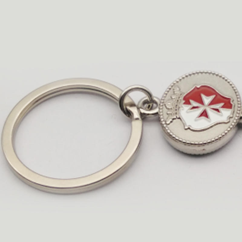 silver shiny christmas gifts home keychain Huancheng Brand
