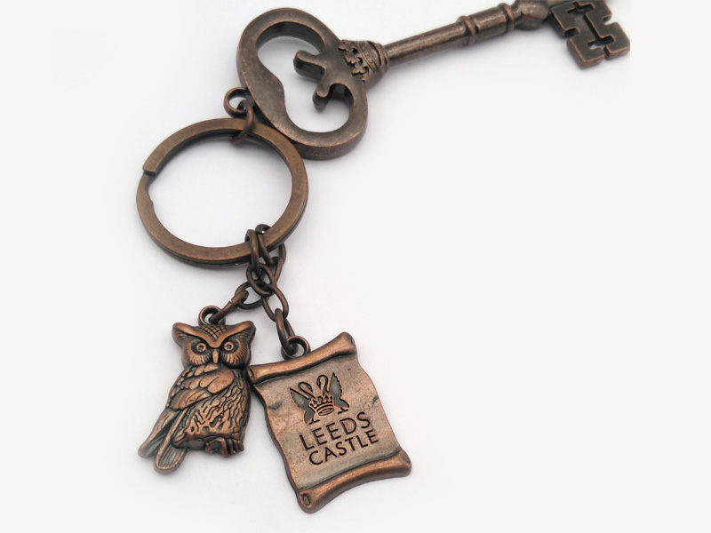 Medals Tech quality leather keychain from China for promotion-4