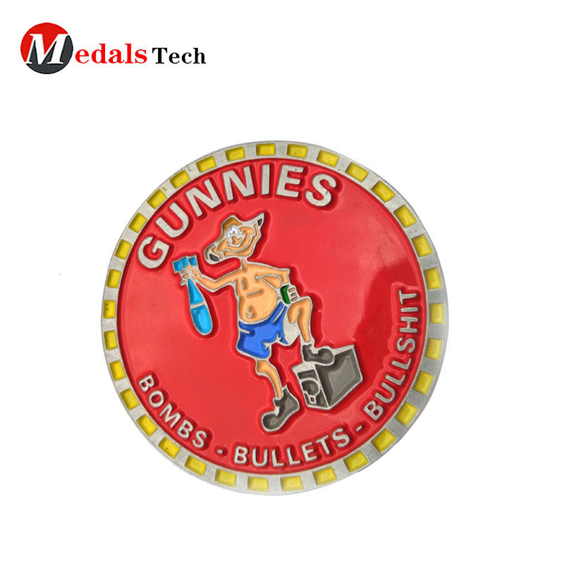 2019 custom metal quality challenge coins for souvenir