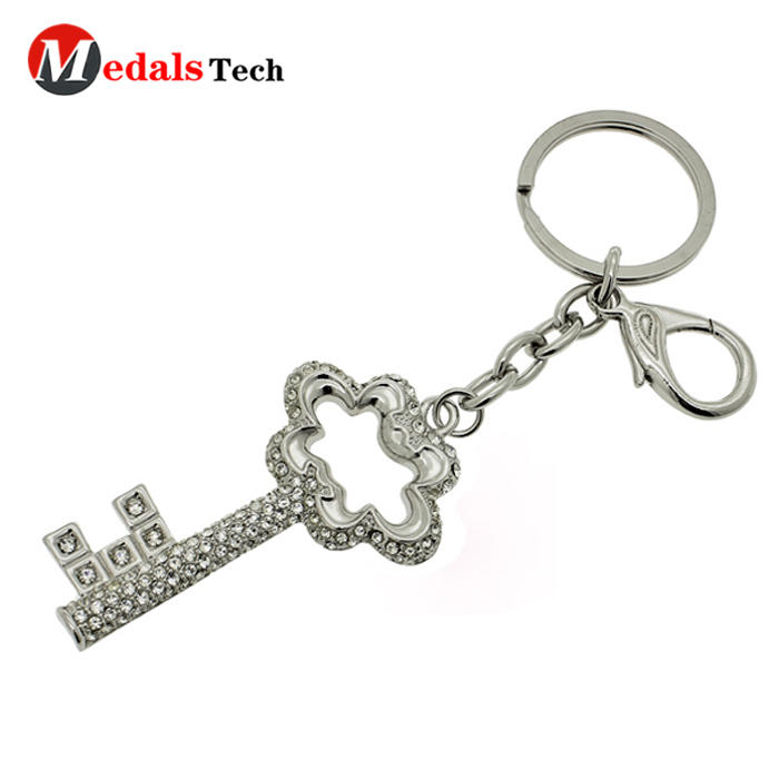 No minimum order metal house souvenir laser letter keychain