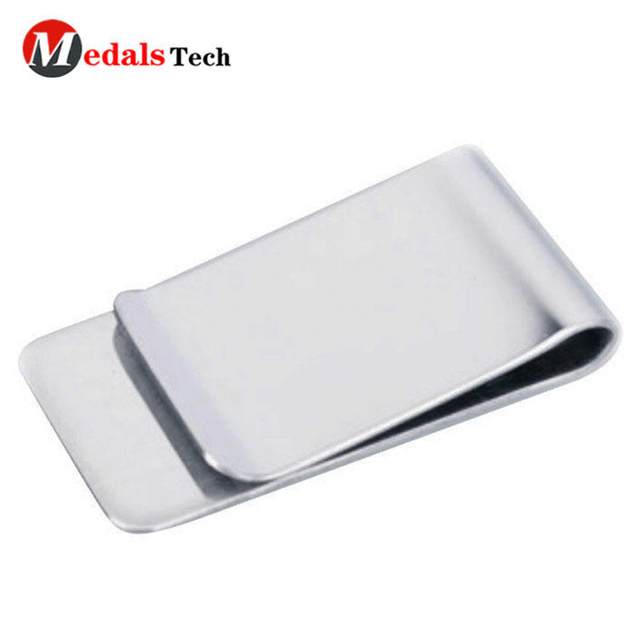 High quality blank metal stainless steel money clip