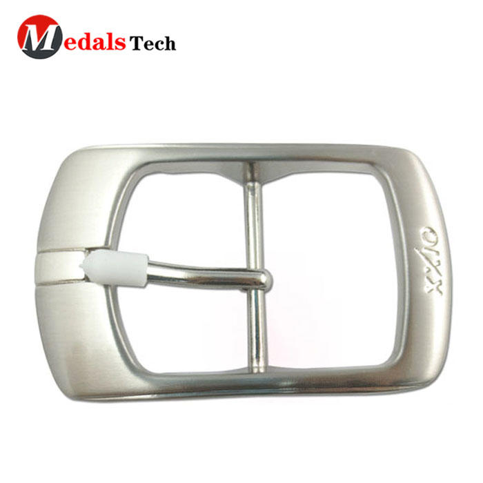 Wholesale custom shinny silver belt buckles for man
