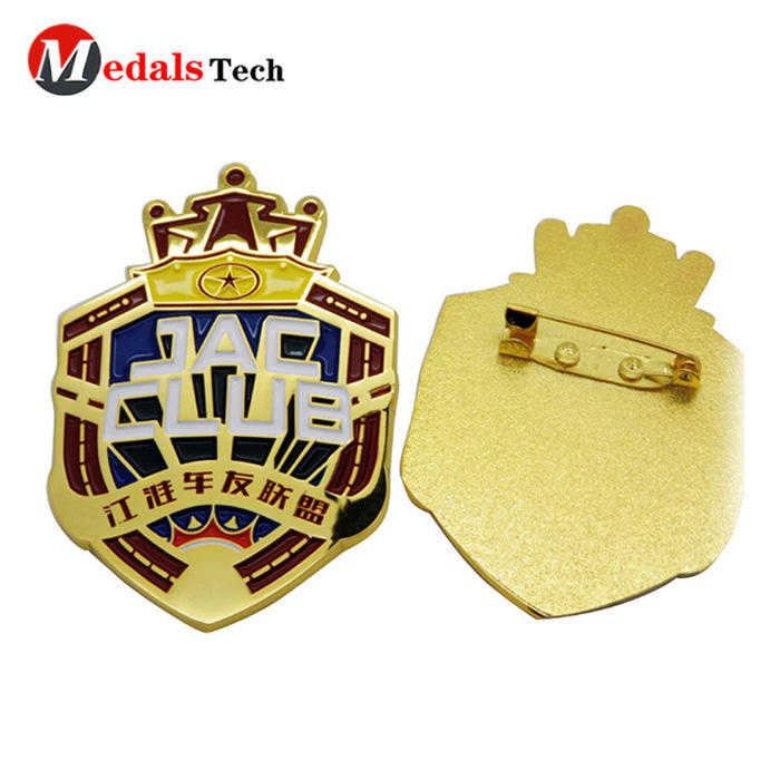 gold suit lapel pins image with good price for woman