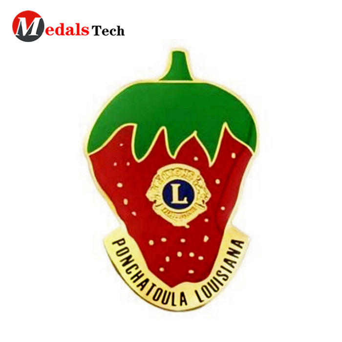 Factory price soft enamel 3d metal souvenir gifts lapel pin