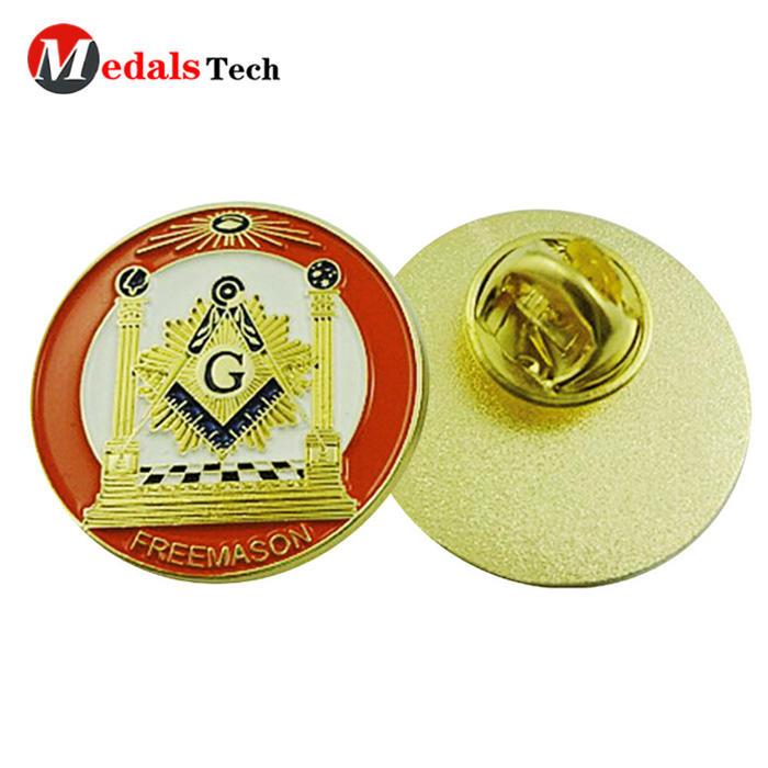 Factory price soft enamel 3d metal souvenir gifts lapel pin