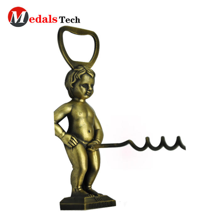 High quality crew wine novely penis metal bottle opener
