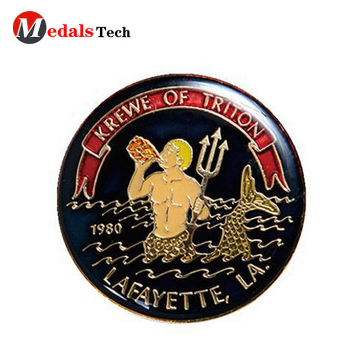 High quality hard enamel beautiful 3d souvenir challenge coins