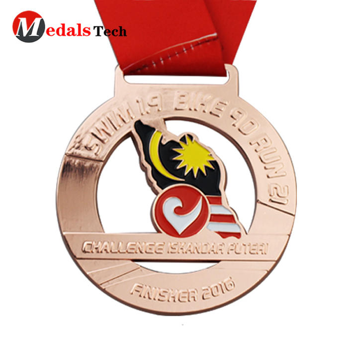 High quality bottle opener zinc alloy medal with magnet