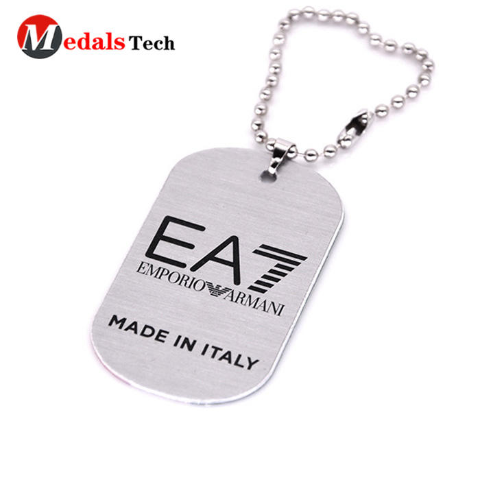 plating order dog name tag die manufacturer for man