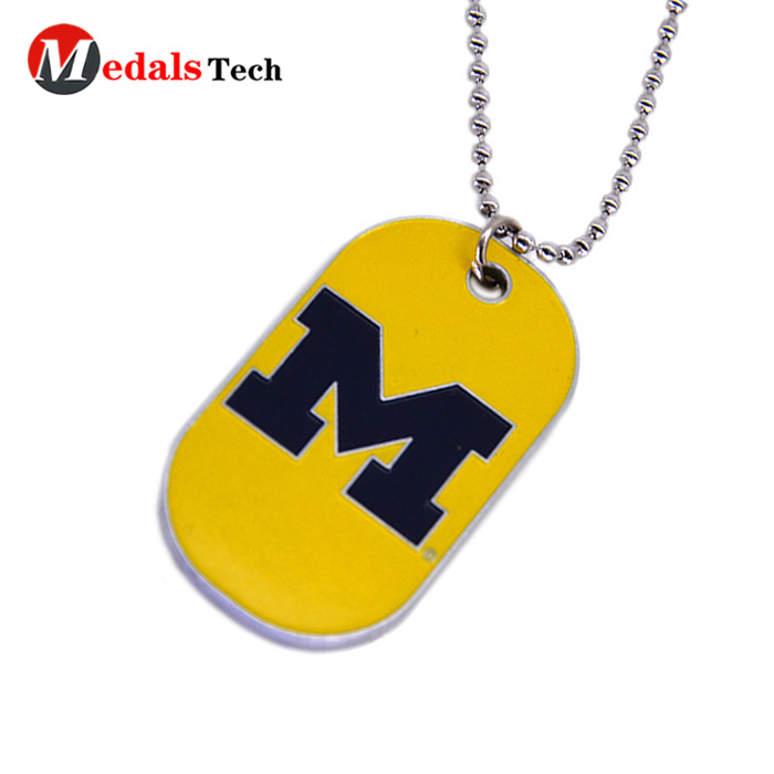 Promotional metal custom blank color filled pet dog tag-6