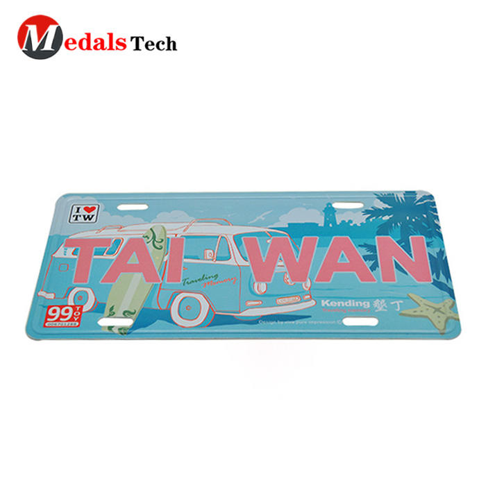 Hot selling stainless steel printing beautiful nameplate gifts for souvenir