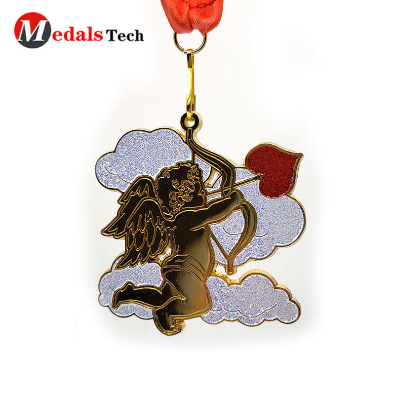 Custom Metal Medals With 3d Gold Plating