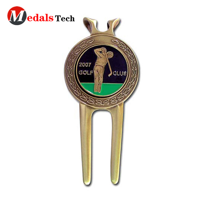 Medals Tech clip divot repair tool design for add on sale-5