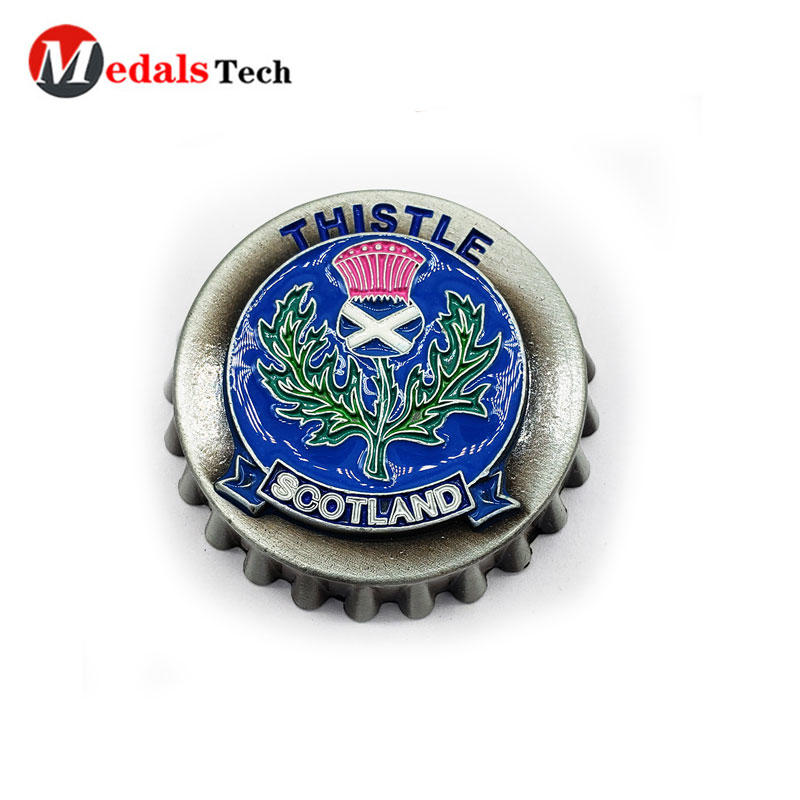 Cap Beer Bottle Opener with Popular Owner Logo