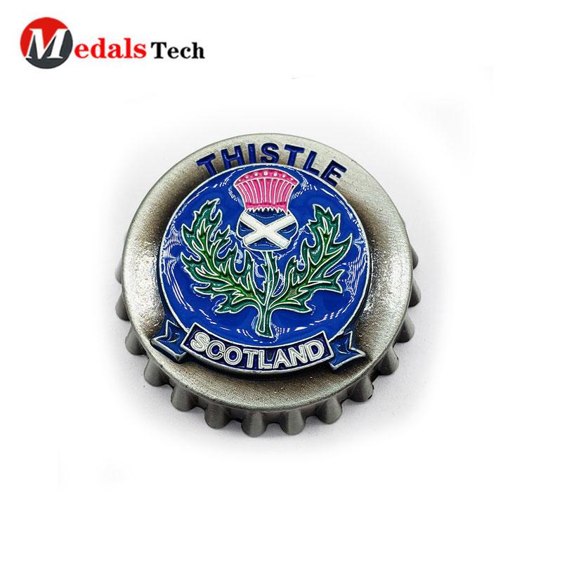 Cap Beer Bottle Opener with Popular Owner Logo