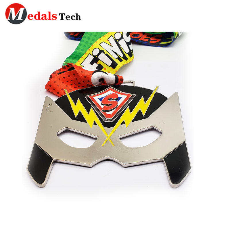 Metal Medal Silver Plating Mask for Dancing Activities