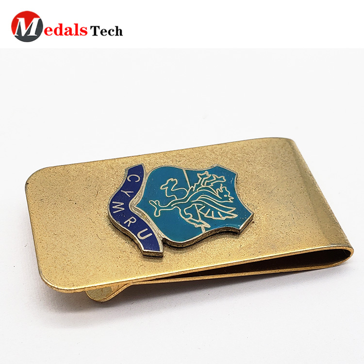 Medals Tech promotion wallet and money clip set with good price for adults-5