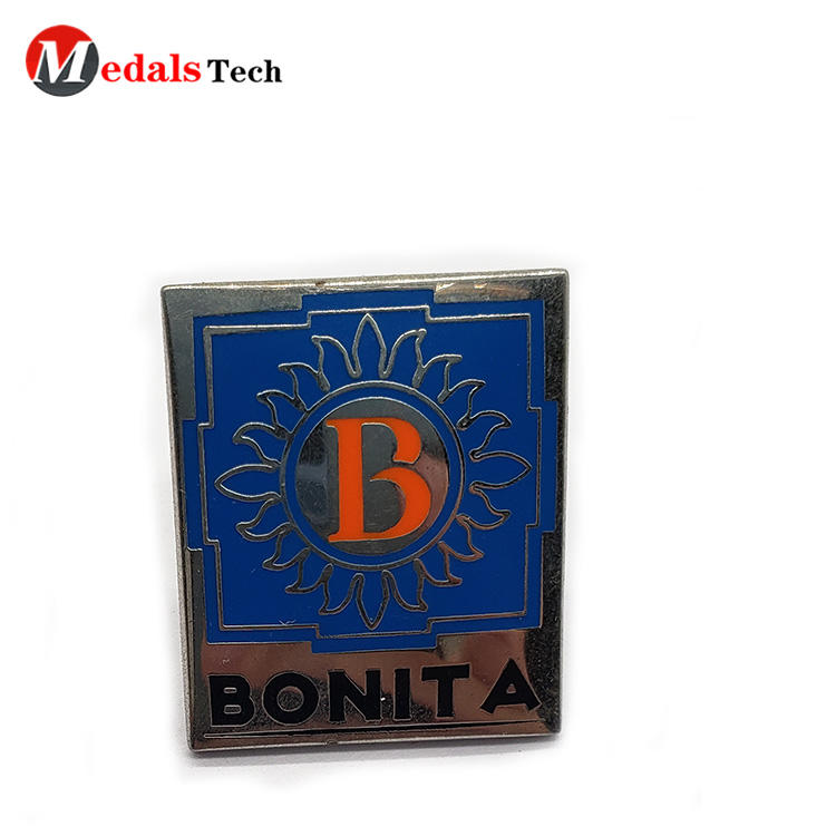 Steel Name Plates Plating with Soft Enamel