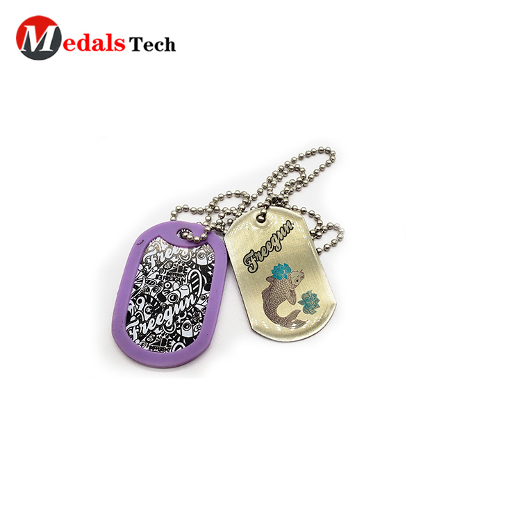Medals Tech shinny dog tag maker for pets directly sale for boys-6