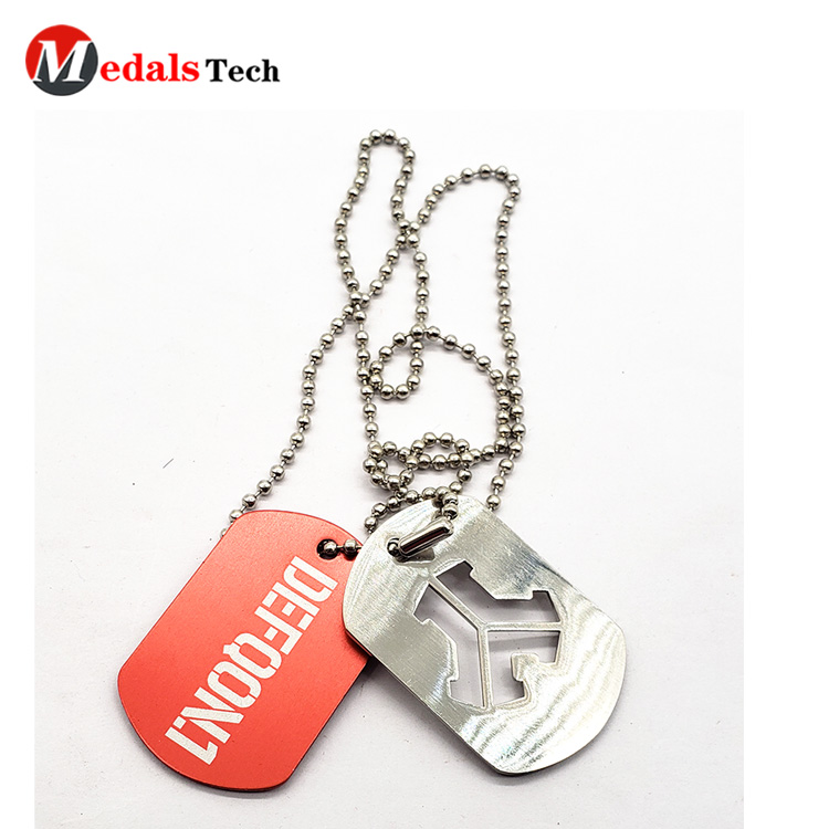 Medals Tech shinny dog tag maker for pets directly sale for boys-5