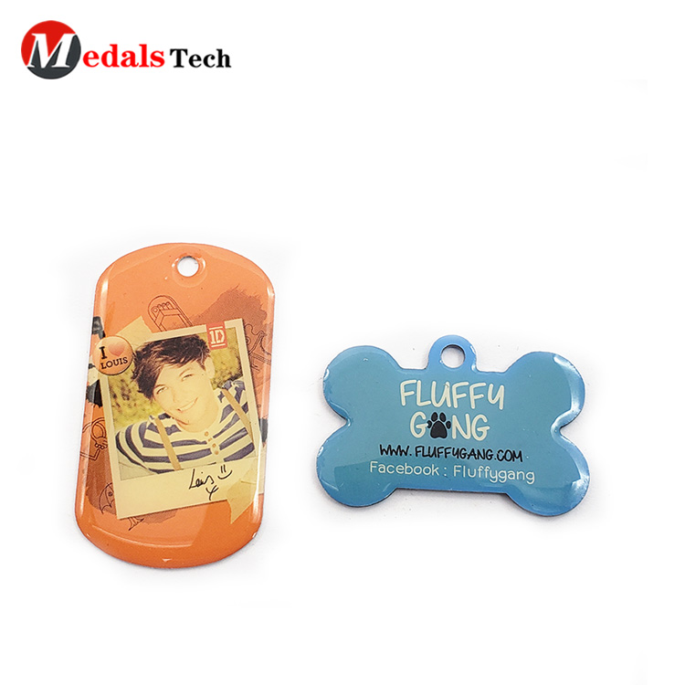 Medals Tech shinny Dog tag series for boys-4