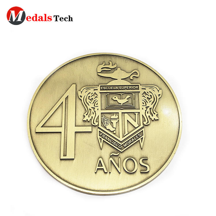 Presidential Challenge Coin Zinc Alloy Embossed Logo for Souvenir