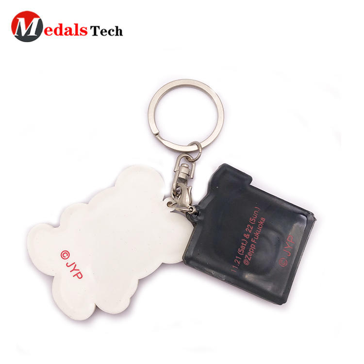 Custom Keychain with Cute Cartoon Soft  Pvc