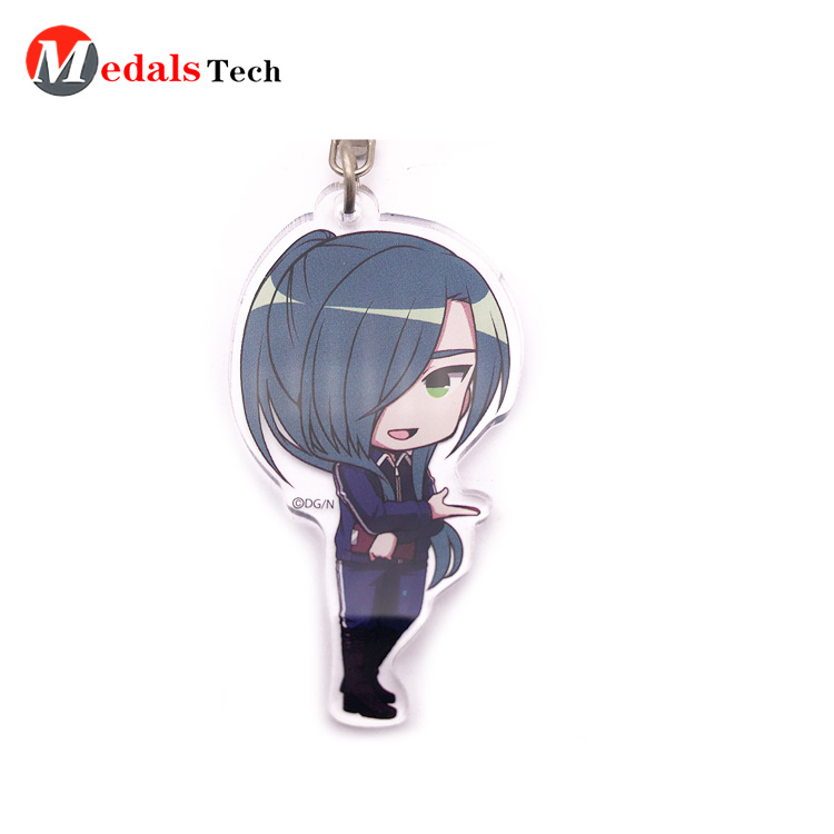 Medals Tech shoe name keychains customized for add on sale-4