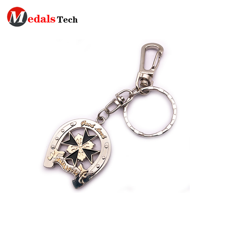 embossed metal key ring manufacturer for woman-4