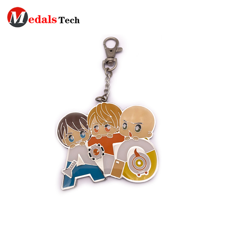 Medals Tech gold metal keychains directly sale for promotion-1