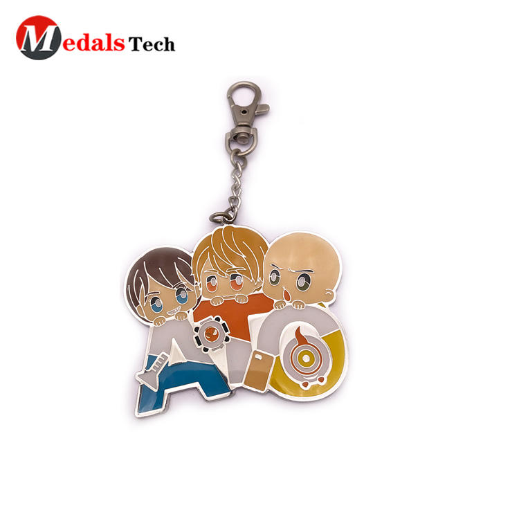 Medals Tech antique metal key ring series for add on sale