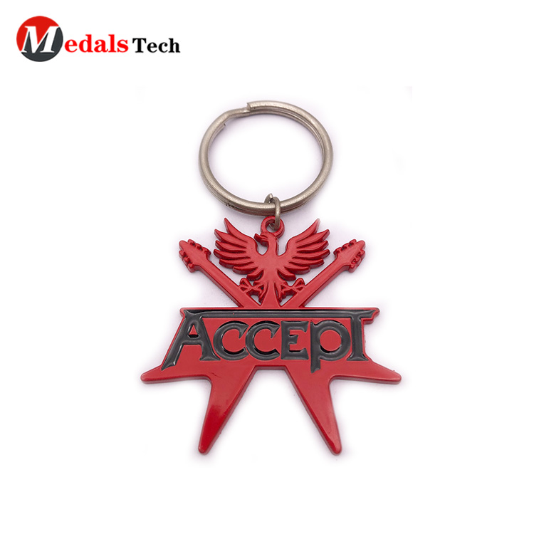 Medals Tech gold metal keychains directly sale for promotion-3