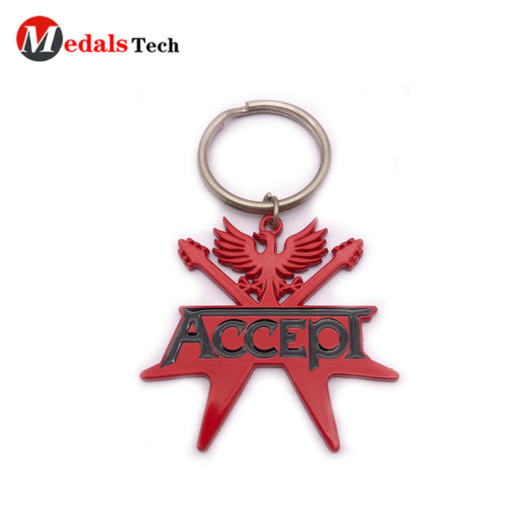 metal novelty keyrings mini from China for promotion