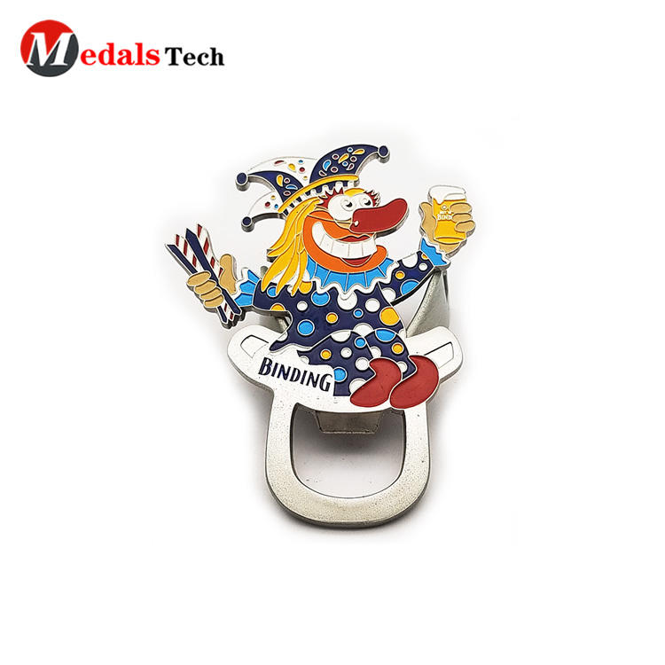 Medals Tech printing wall mount bottle opener customized for household