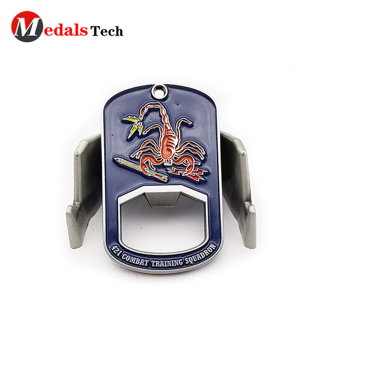 round wall mount bottle opener customized for souvenir-4