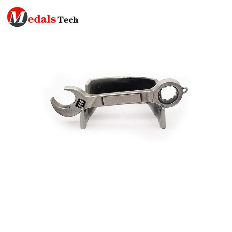 Personalized blank spanner shape tool mini metal beer bottle opener