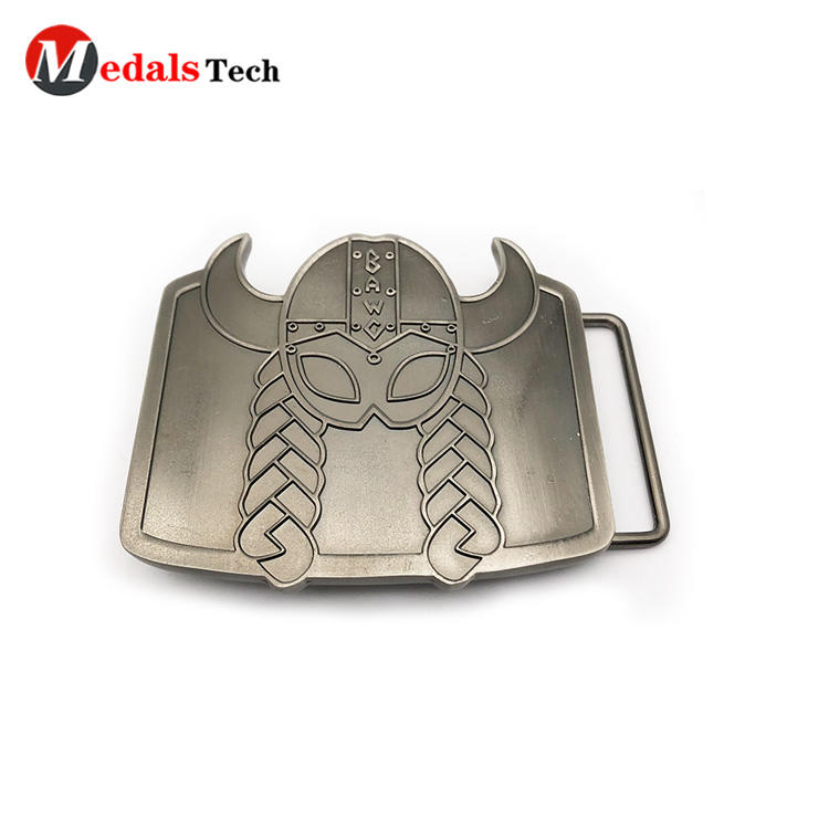 Creative fashion engraved logo zinc alloy belt buckles with antique plating