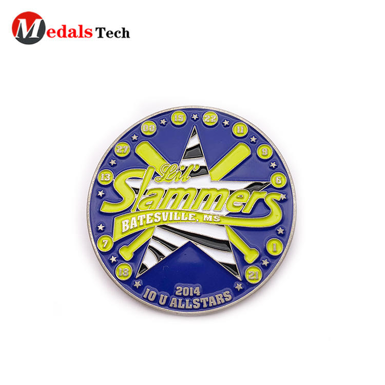 Chinese manufactures cheap round shape soft enamel metal lapel pin